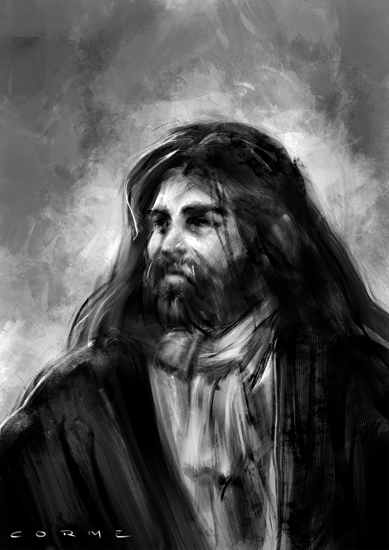 Brush Experiment - The Lord par Freyj