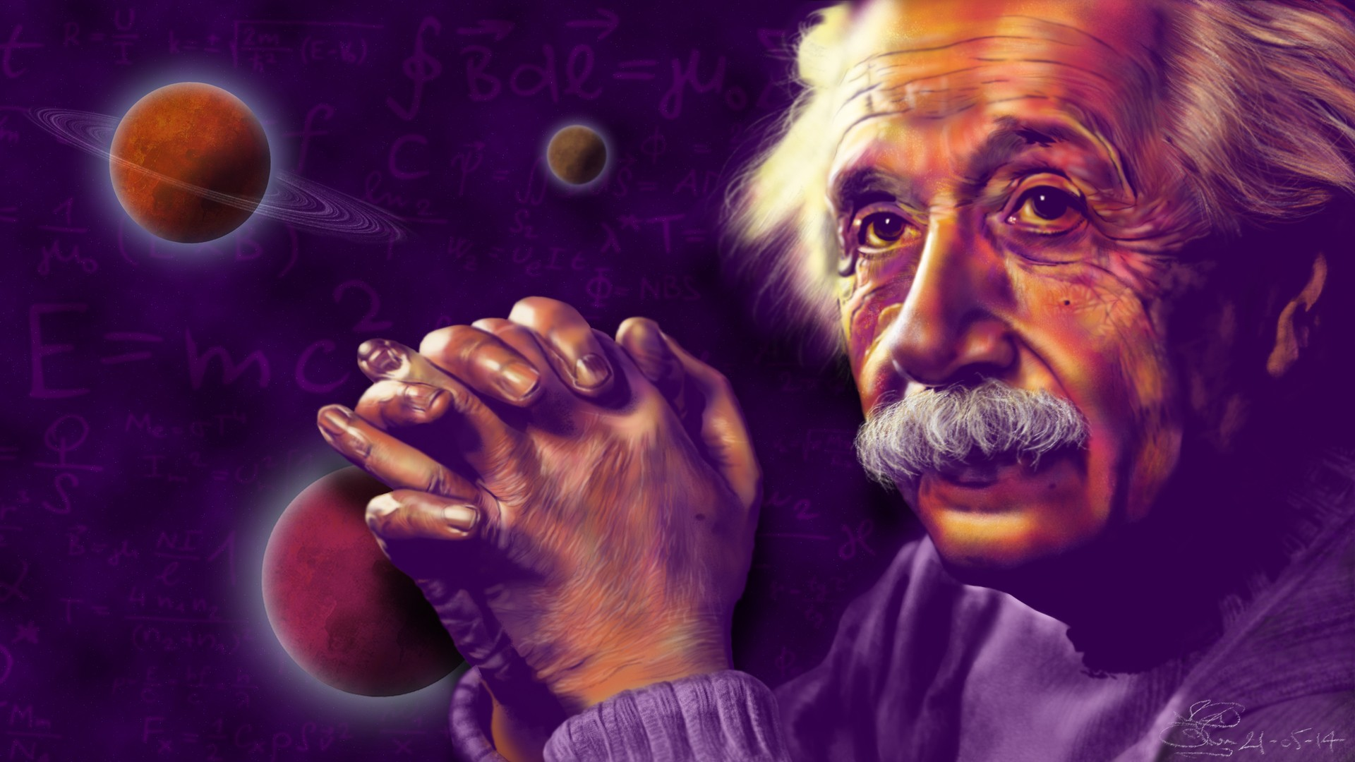 E=MC² par Loco Art