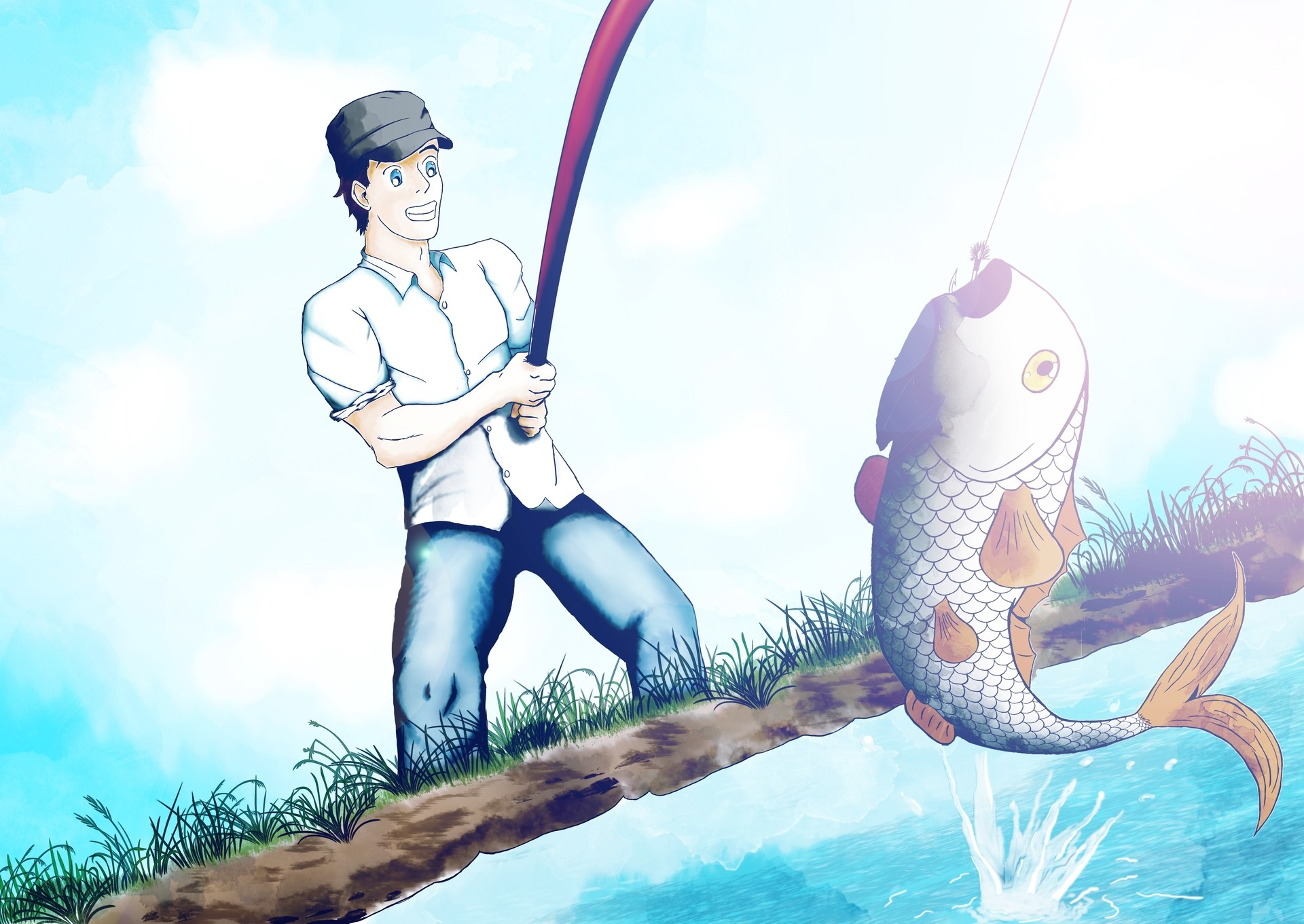 fisherman par Christophe