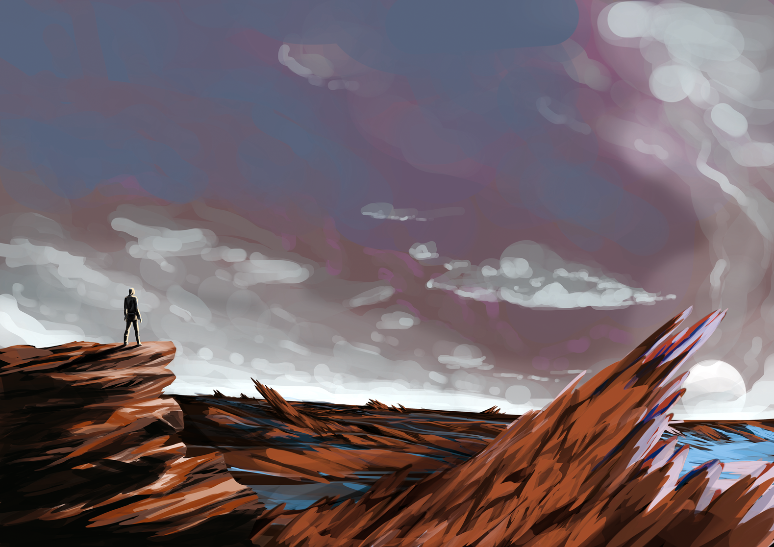 desertlandscape par Willustrate