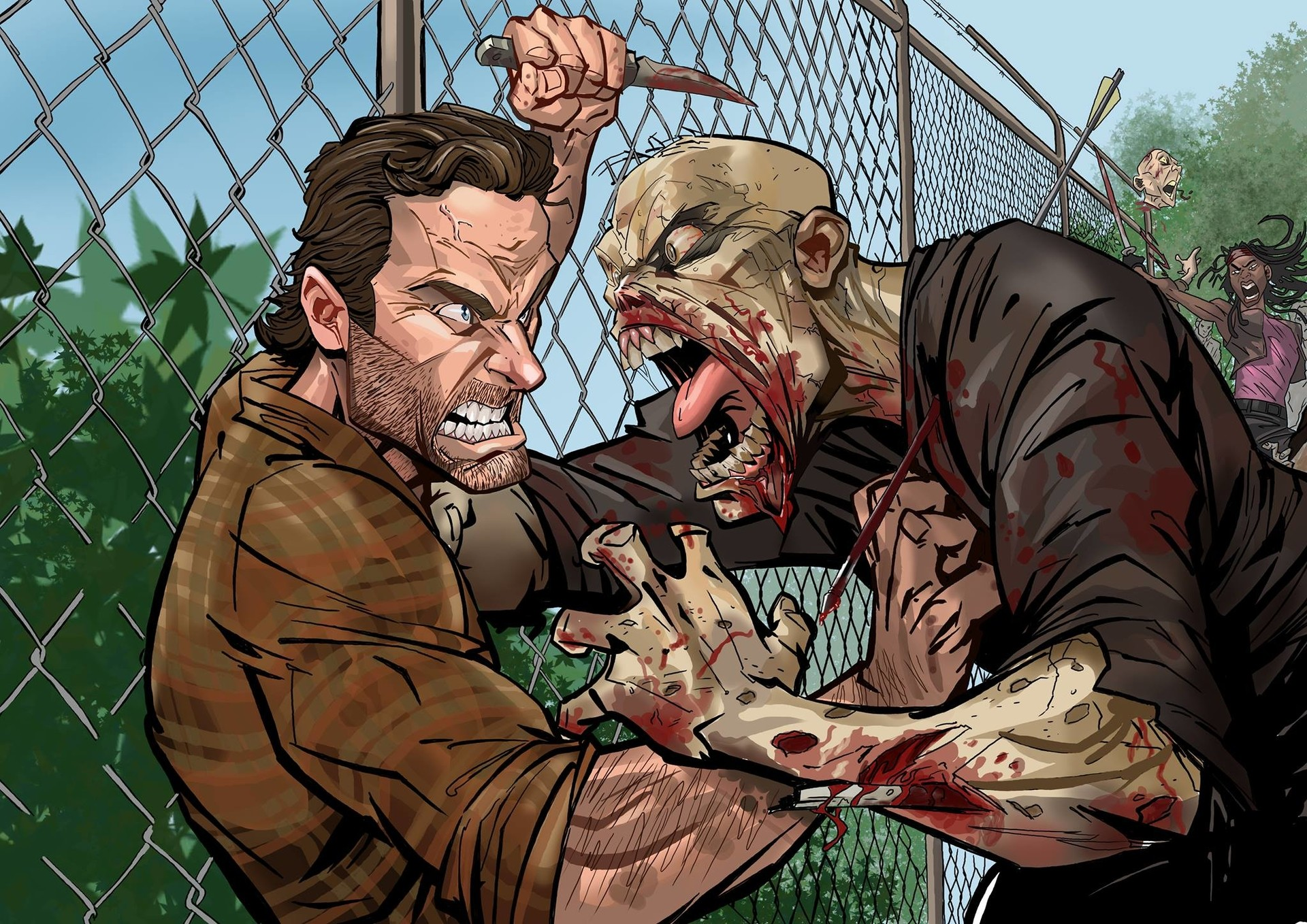 The Walking Dead  par ART GRAPHIQUE
