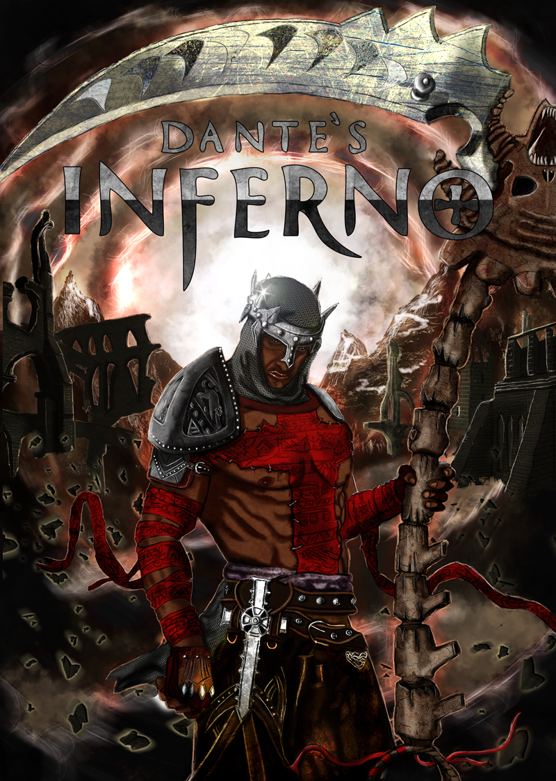 Fan art 2013 Dante's inferno par NikoBeleg