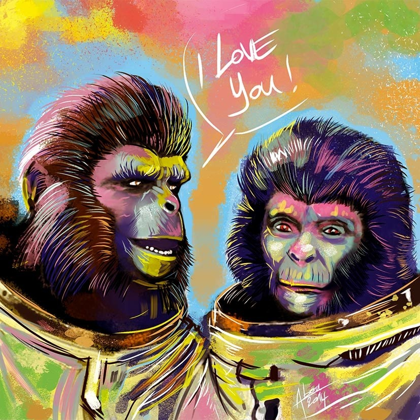 planet-of-the-apes par Abou Kalyamil Mouridi