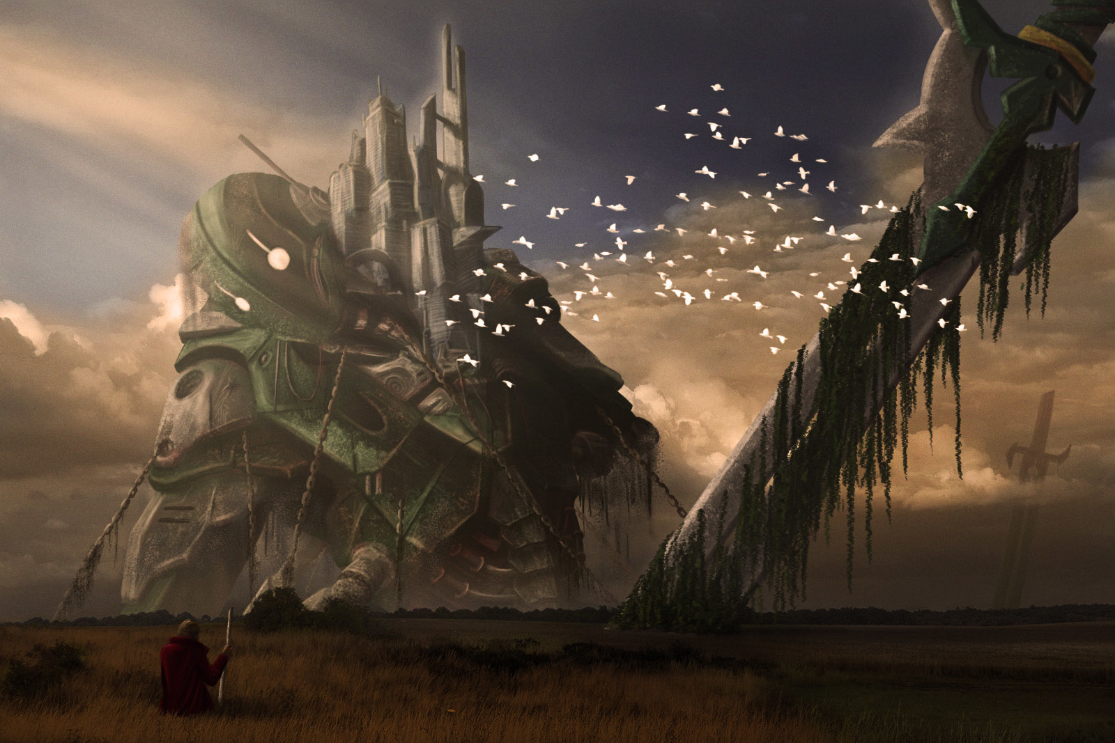 City in Iron Giant par Melfric