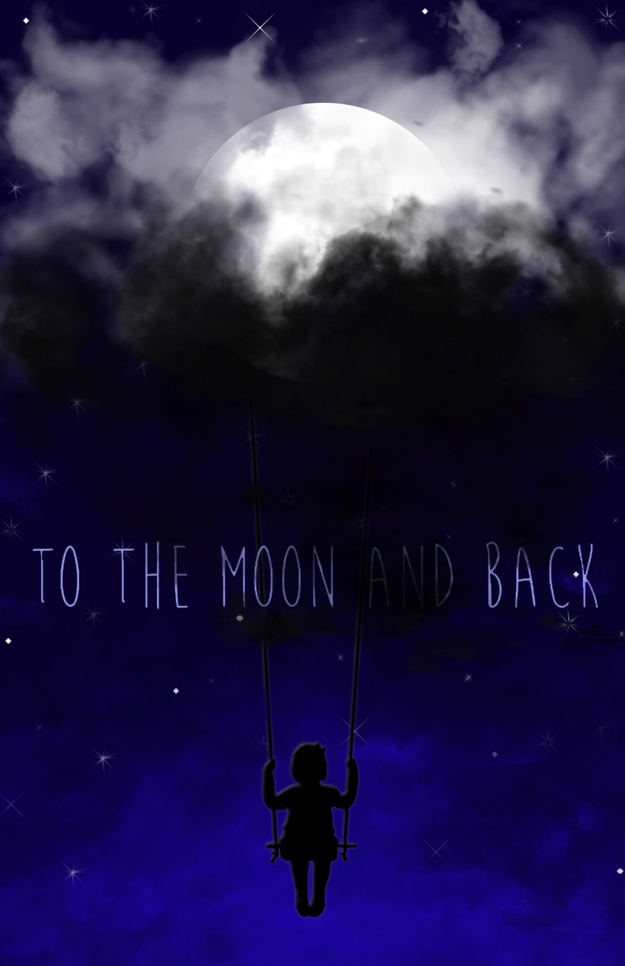 to the moon and back par Tremblotine