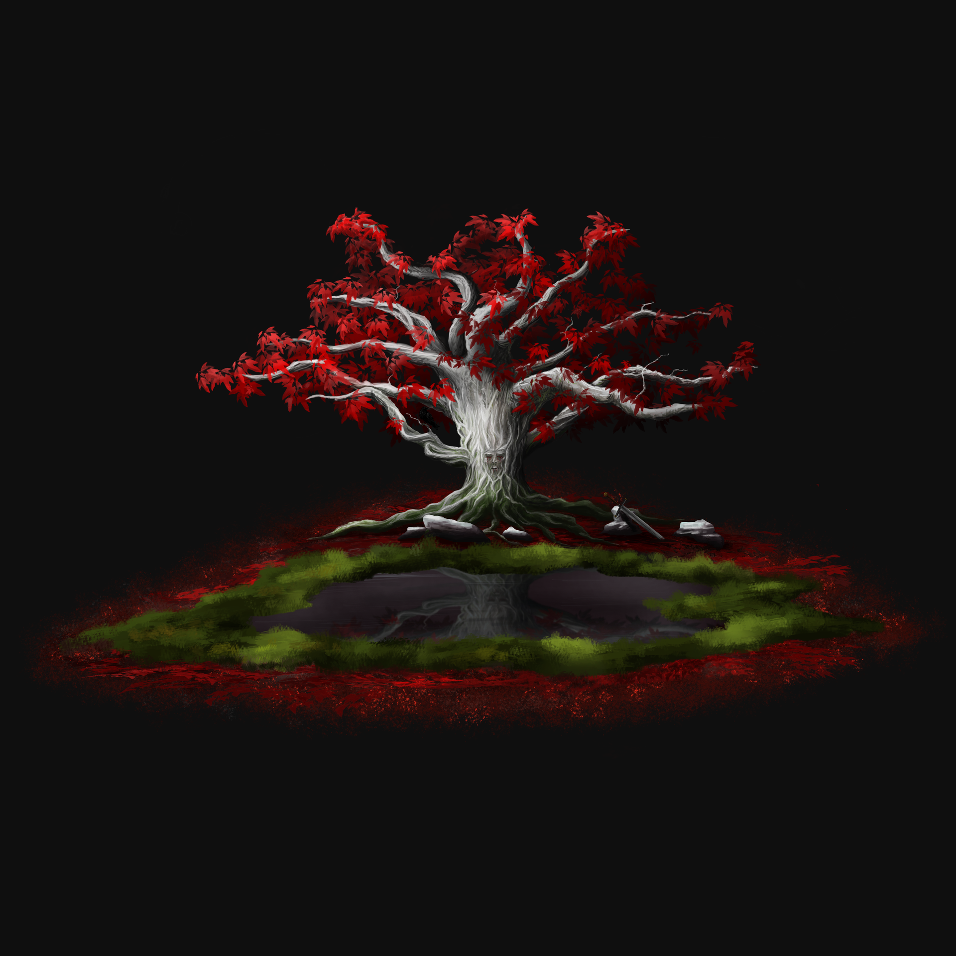 Weirwood final fond noir.png par Marijenburg