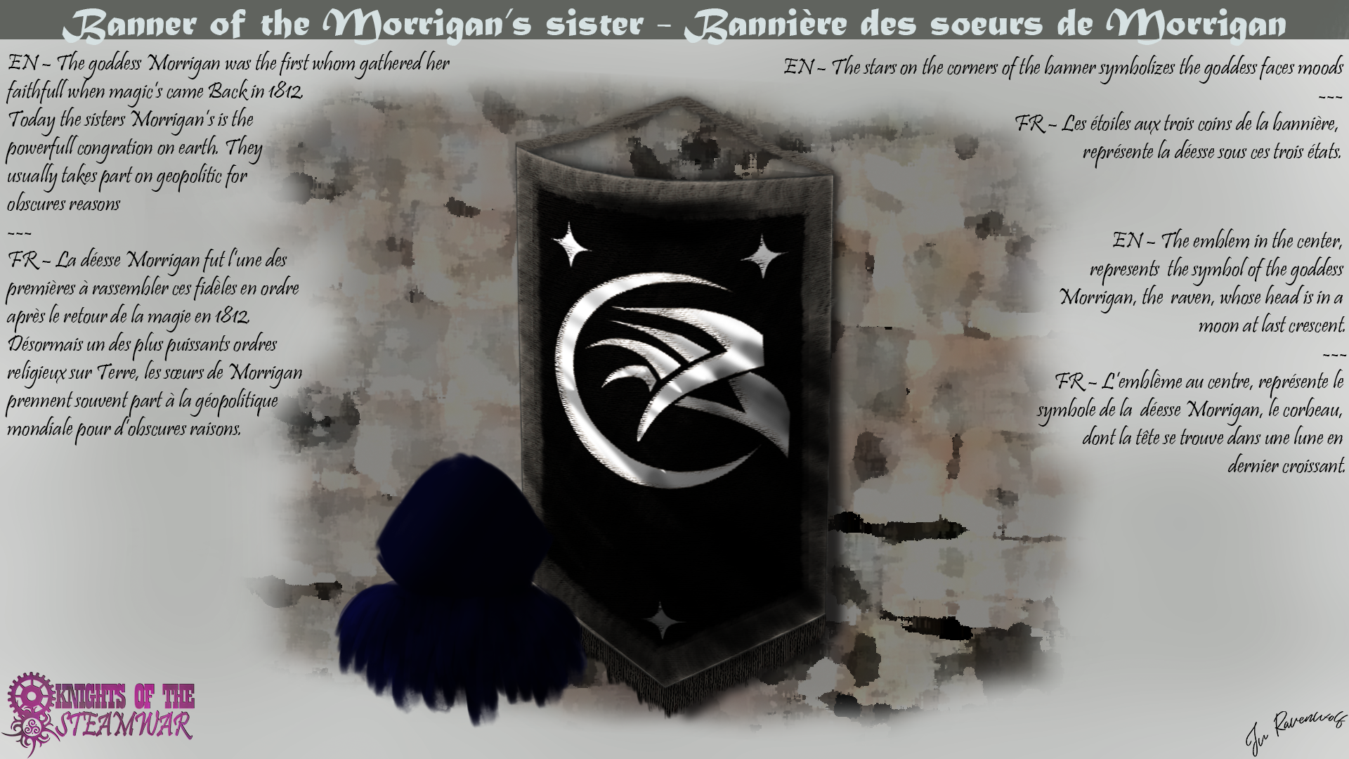 Banner of the Morrigan's sisters par Ravenwolf