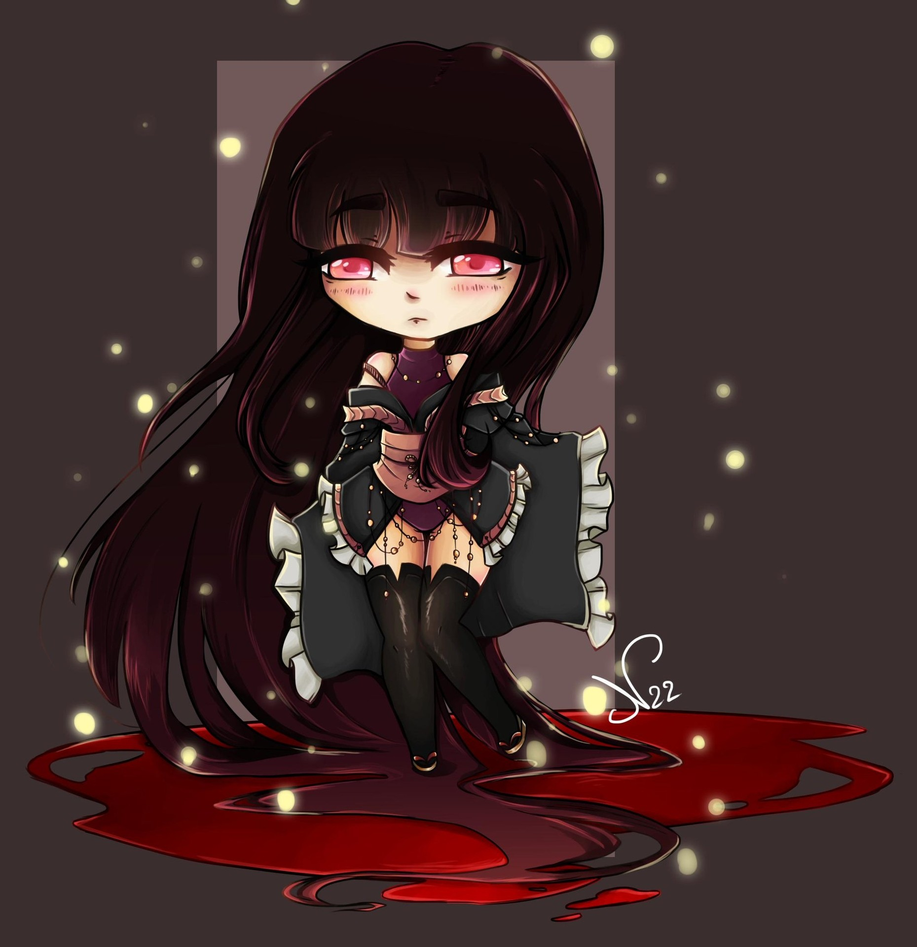 Chibi blood par Nad22