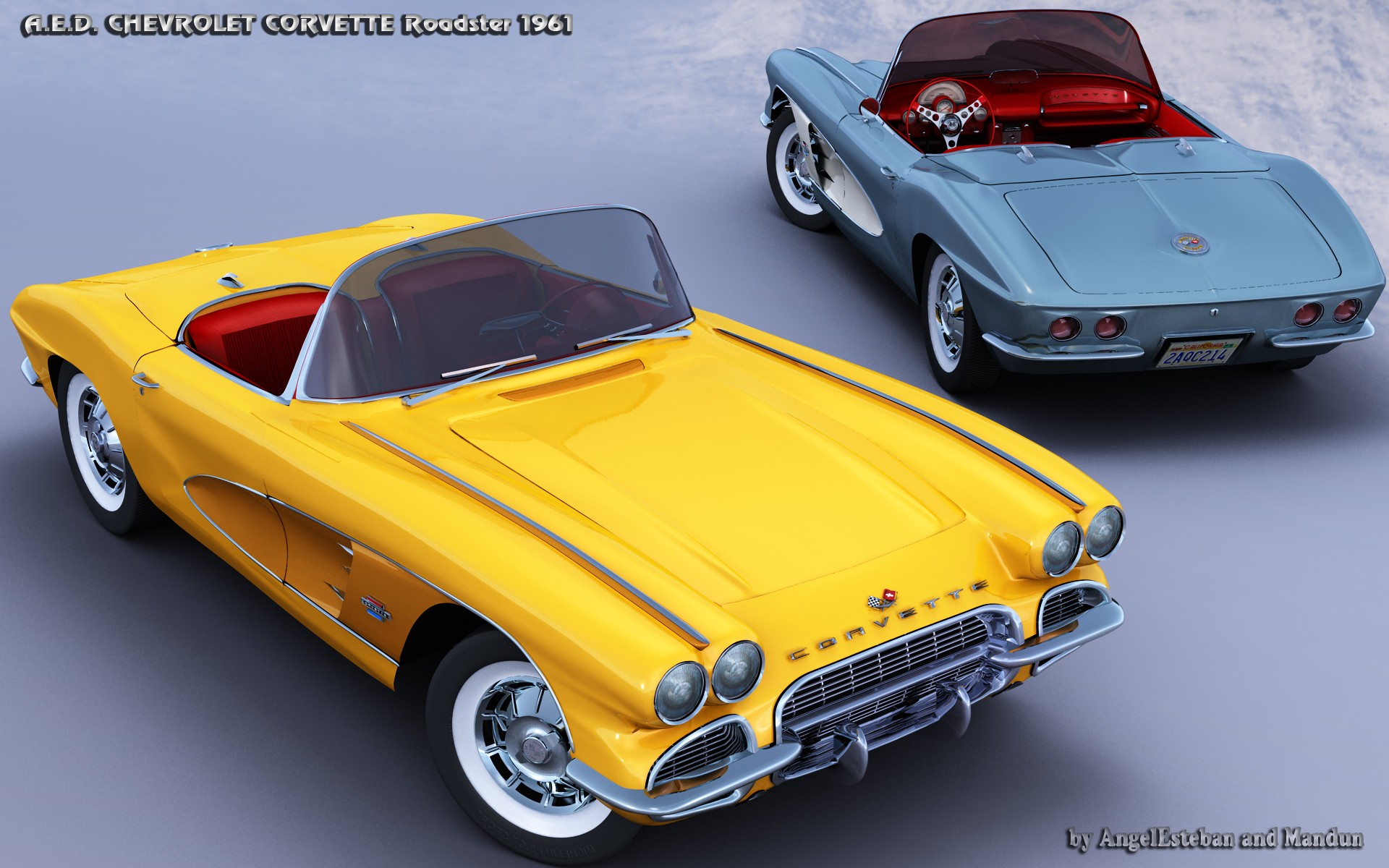 CORVETTE 1961-1 par angelesteban