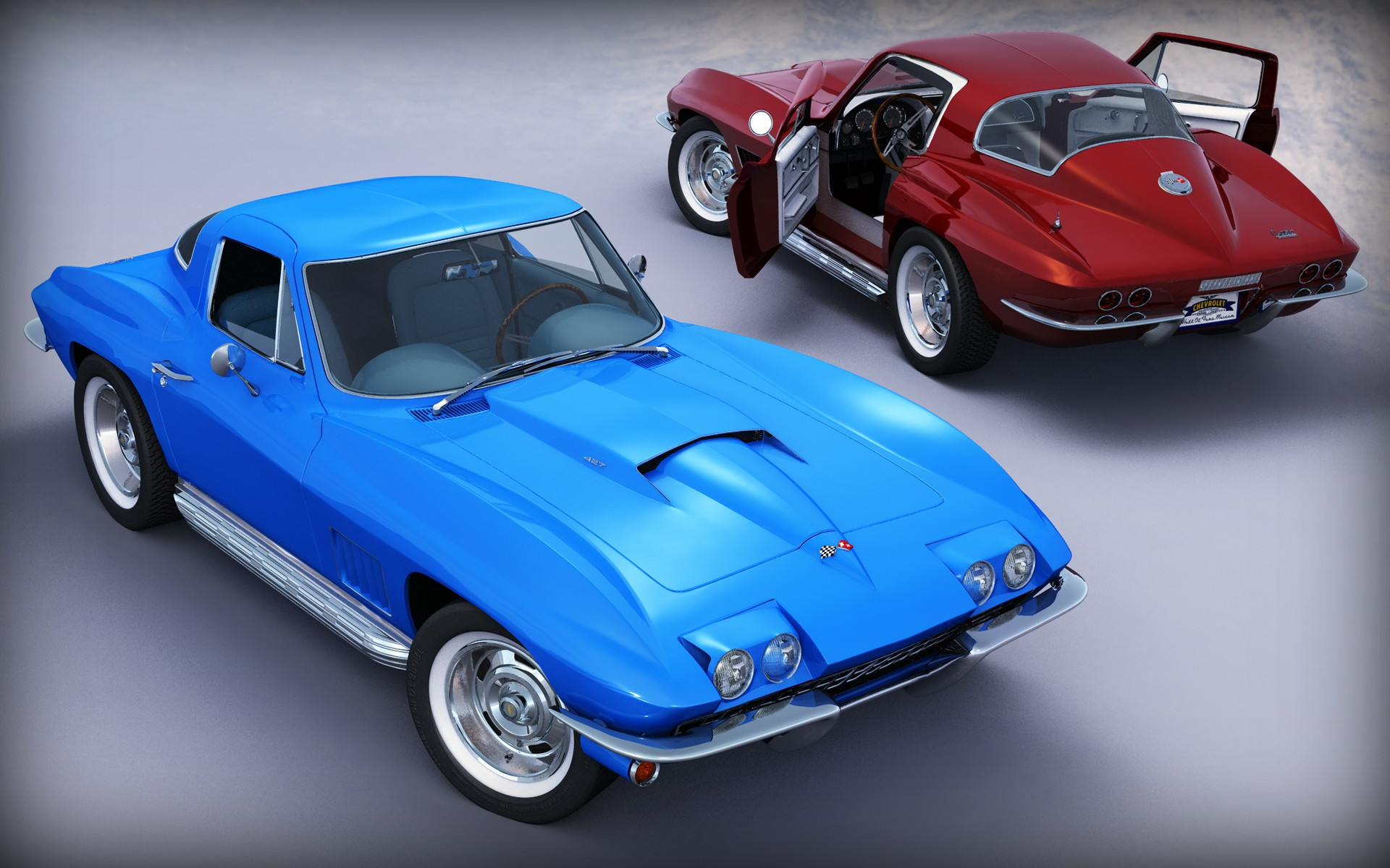 CORVETTE STINGRAY 67-1 par angelesteban