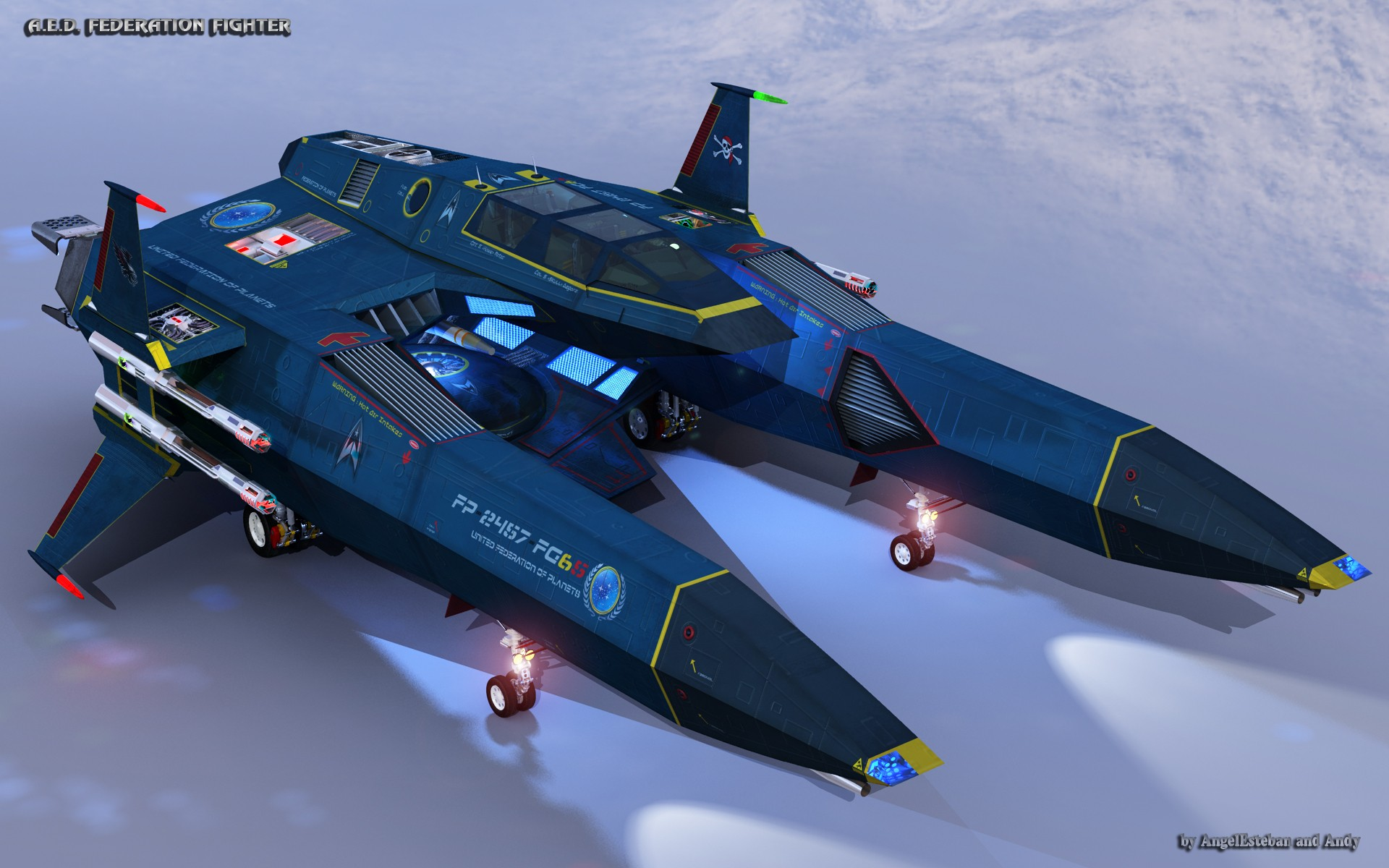 FEDERATION FIGHTER-1 par angelesteban