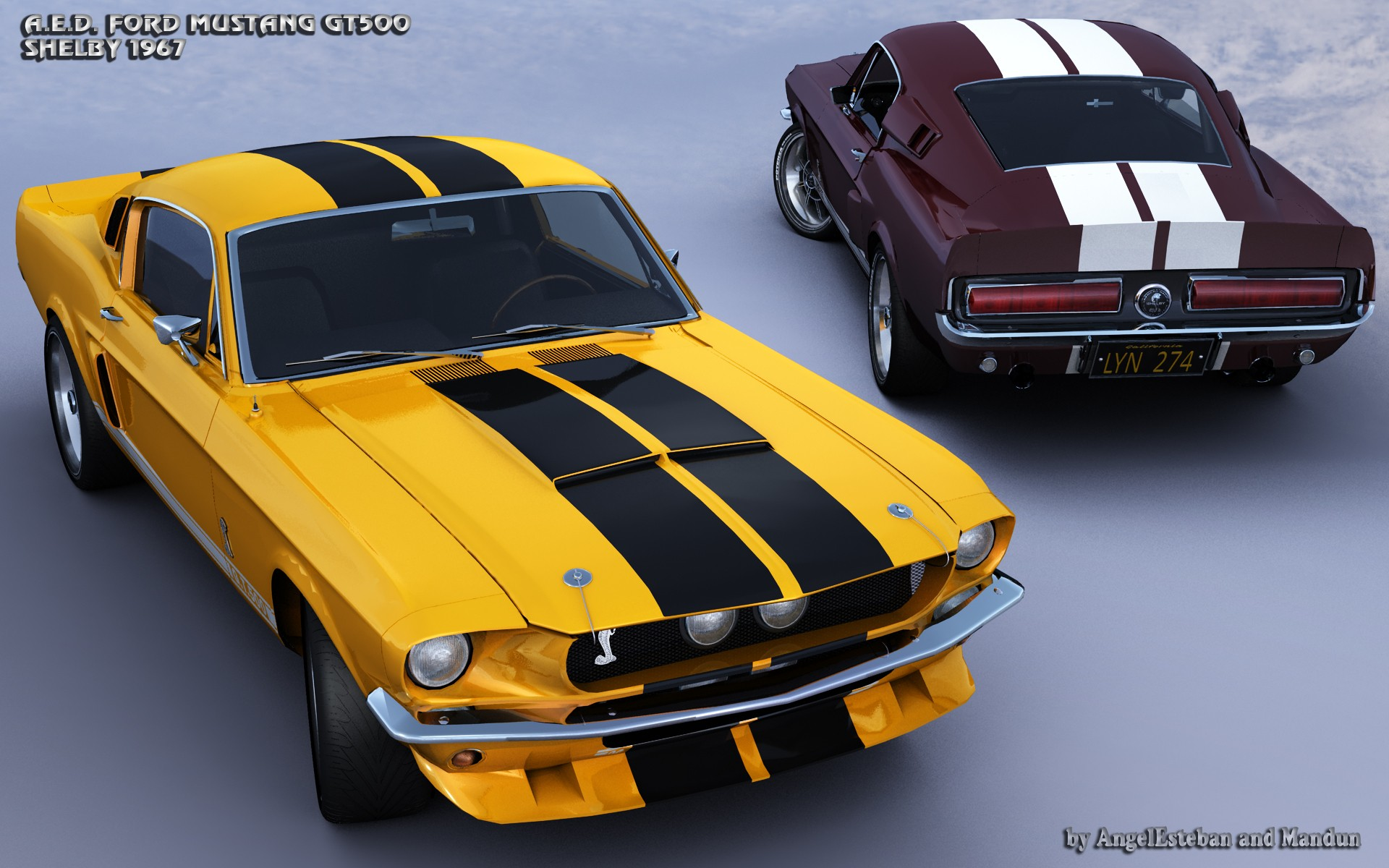 FORD GT500-3 par angelesteban
