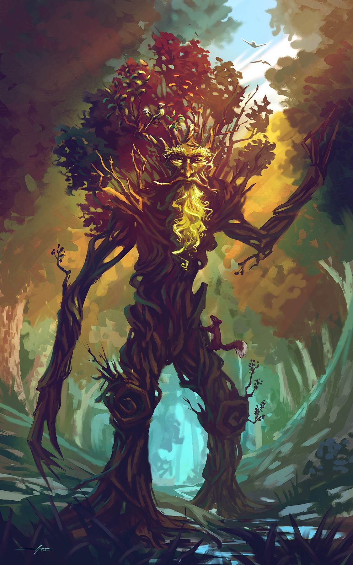 The Green Man par Asur Misoa