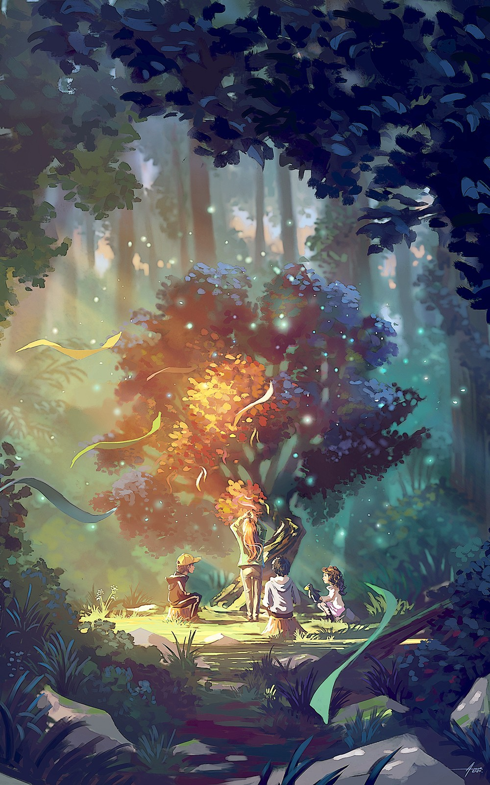 The fairy wish tree par Asur Misoa