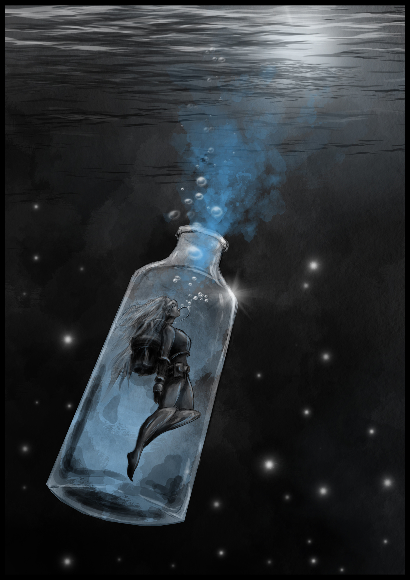 inktober2018 bottle par Madgob
