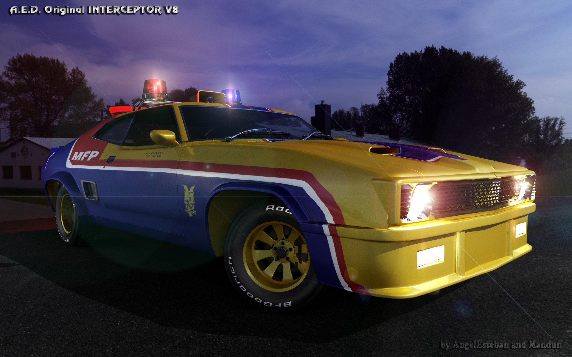 INTERCEPTOR V8-5 par angelesteban
