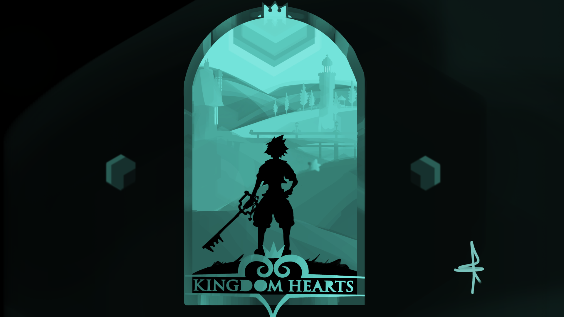 Kingdom hearts par Omaï