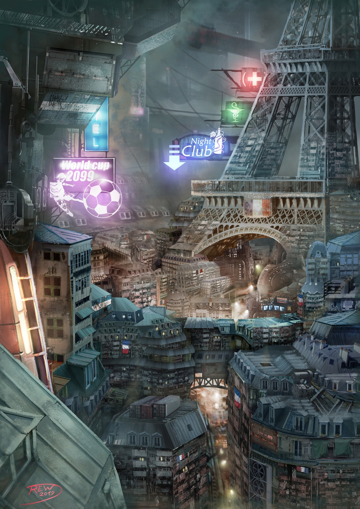 Paris 2099 par rew