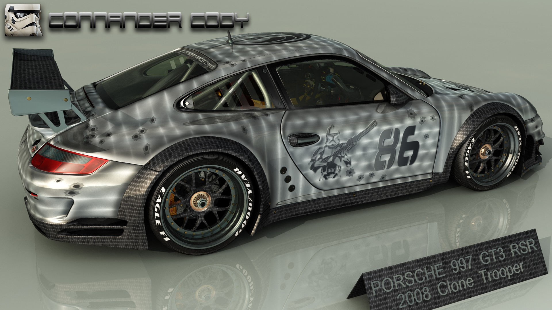 PORSCHE GTR3 TROOPER-P2 par angelesteban