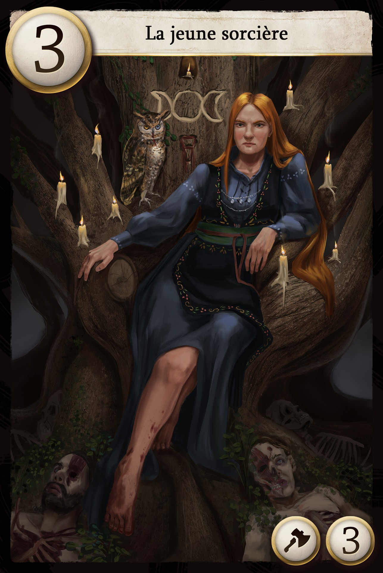 The young witch par DoloresFinch