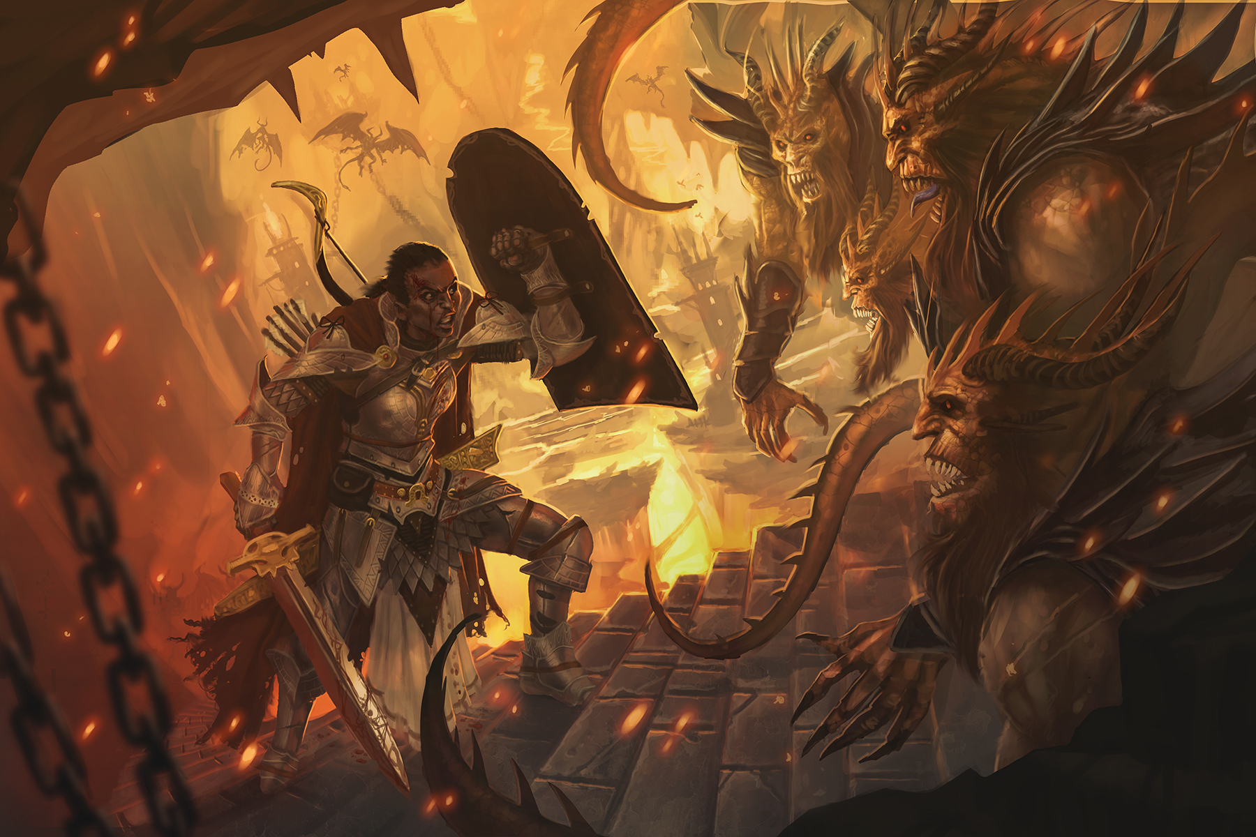THE PALADIN CARVES THROUGH HELL 15 par traaw