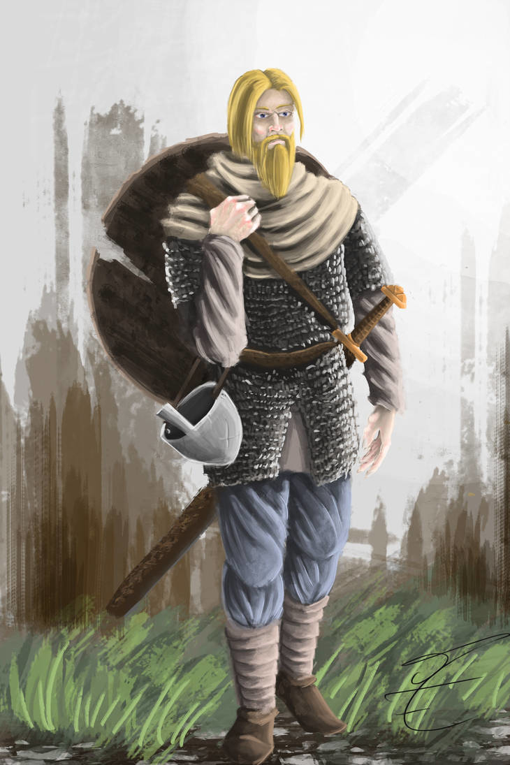 the_wandering_warrior_by_jormungan13_dczhrsz-pre par jormungan13