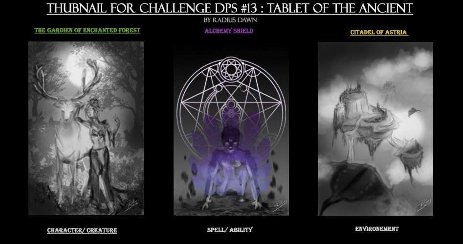 WIP : Challenge Tablet of the Ancients par Radius Dawn