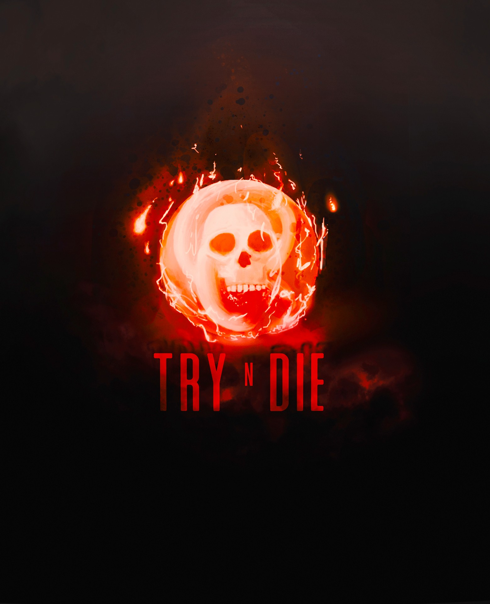 Wallpaper TRY - RED FIRE par ixah