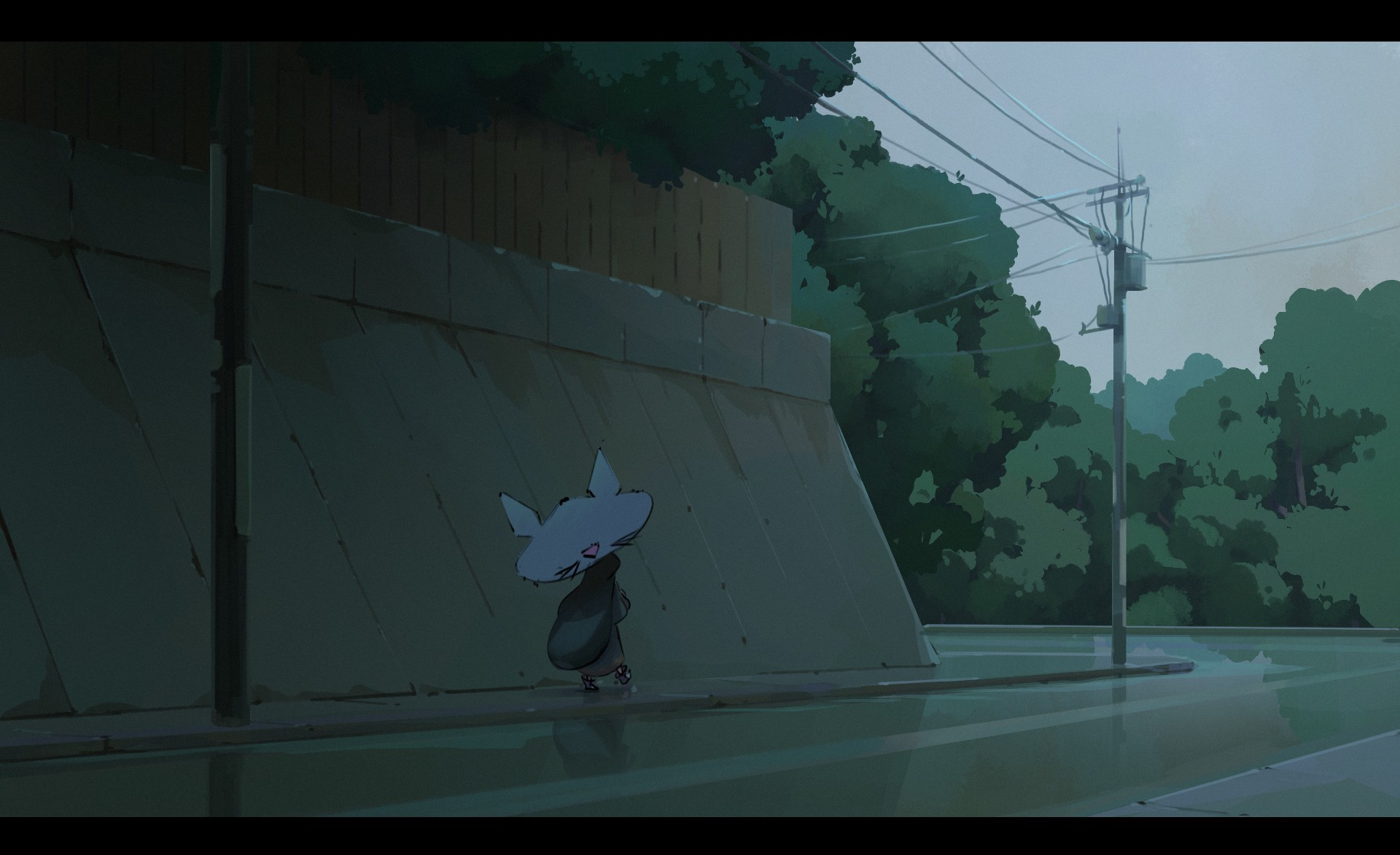 yuki in the rain par atnajoy