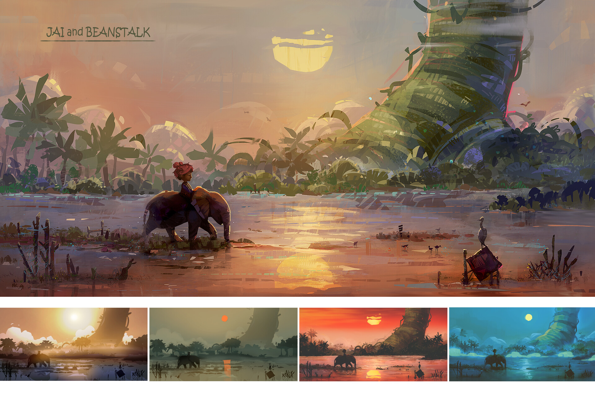 Inspiration de digital painting