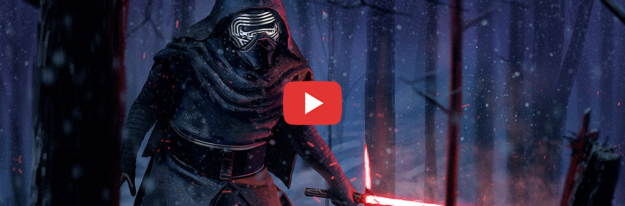 Comment peindre Kylo Ren de Star Wars en digital painting
