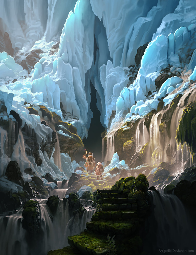 Les sublimes digital painting d'Arcipello aka Daniel Conway