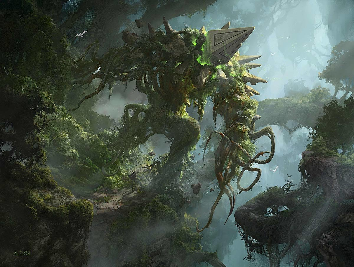 Aleksi Briclot Illustration for Magic the Gathering Battle for Zendikar