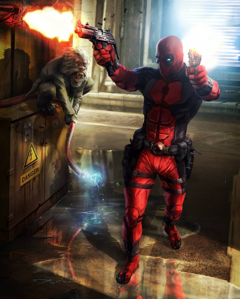 Aleksi Briclot Deadpool War of Heroes mobile game