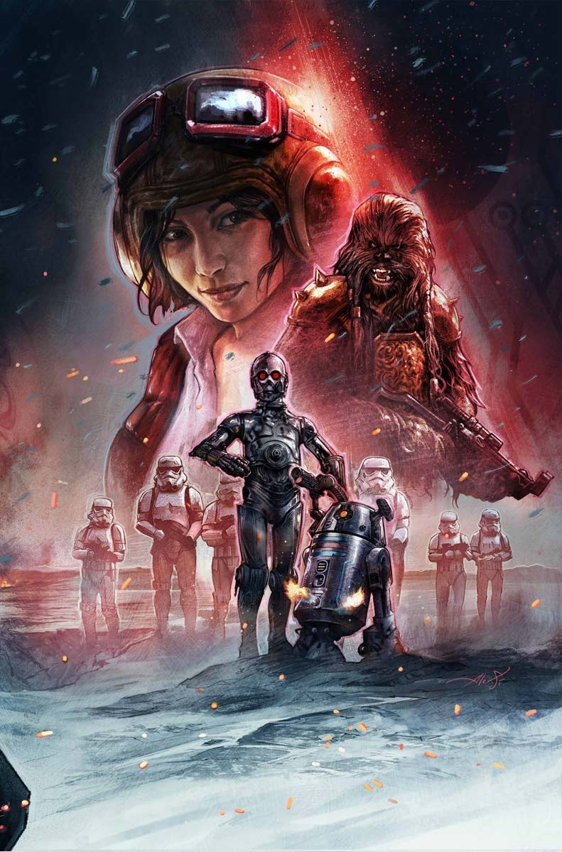 Aleksi Briclot illustration Star Wars