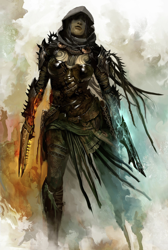 Kekai Kotaki Guild Wars Concept Art Thief