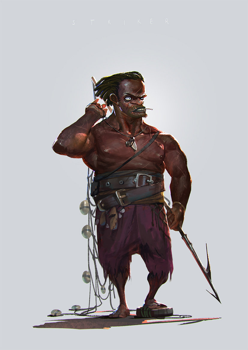 rudy siswanto concept art Pirate