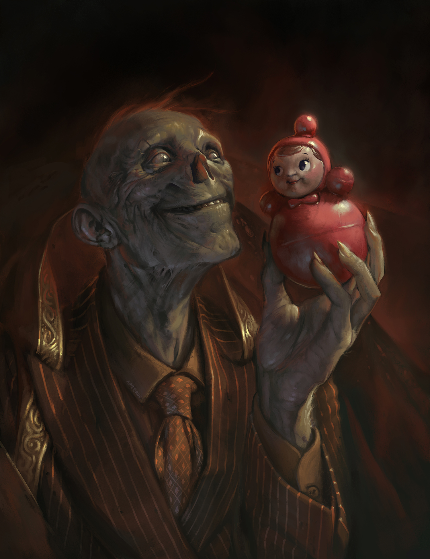 Sabbas Apterus illustration Favorite Toy