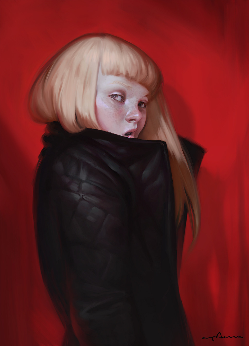 Sabbas Apterus illustration Coat