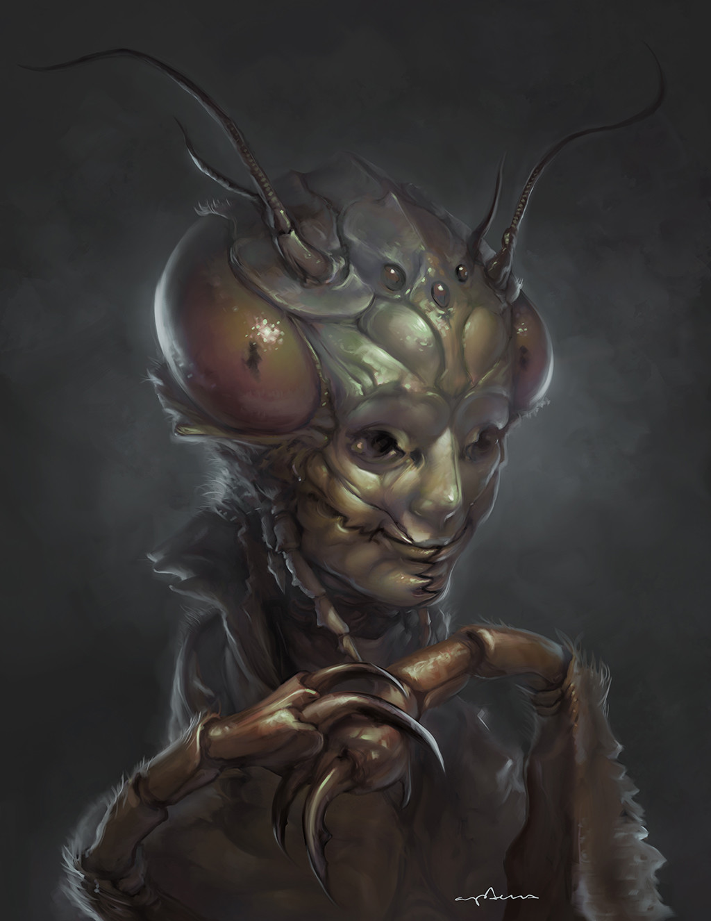 Sabbas Apterus illustration Mimic