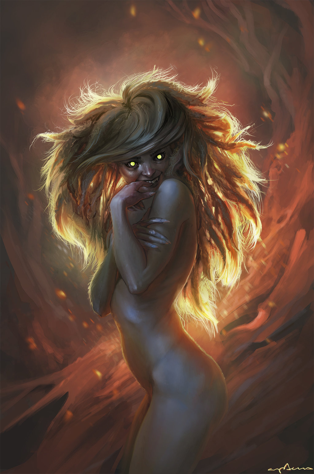 Sabbas Apterus illustration Wildling