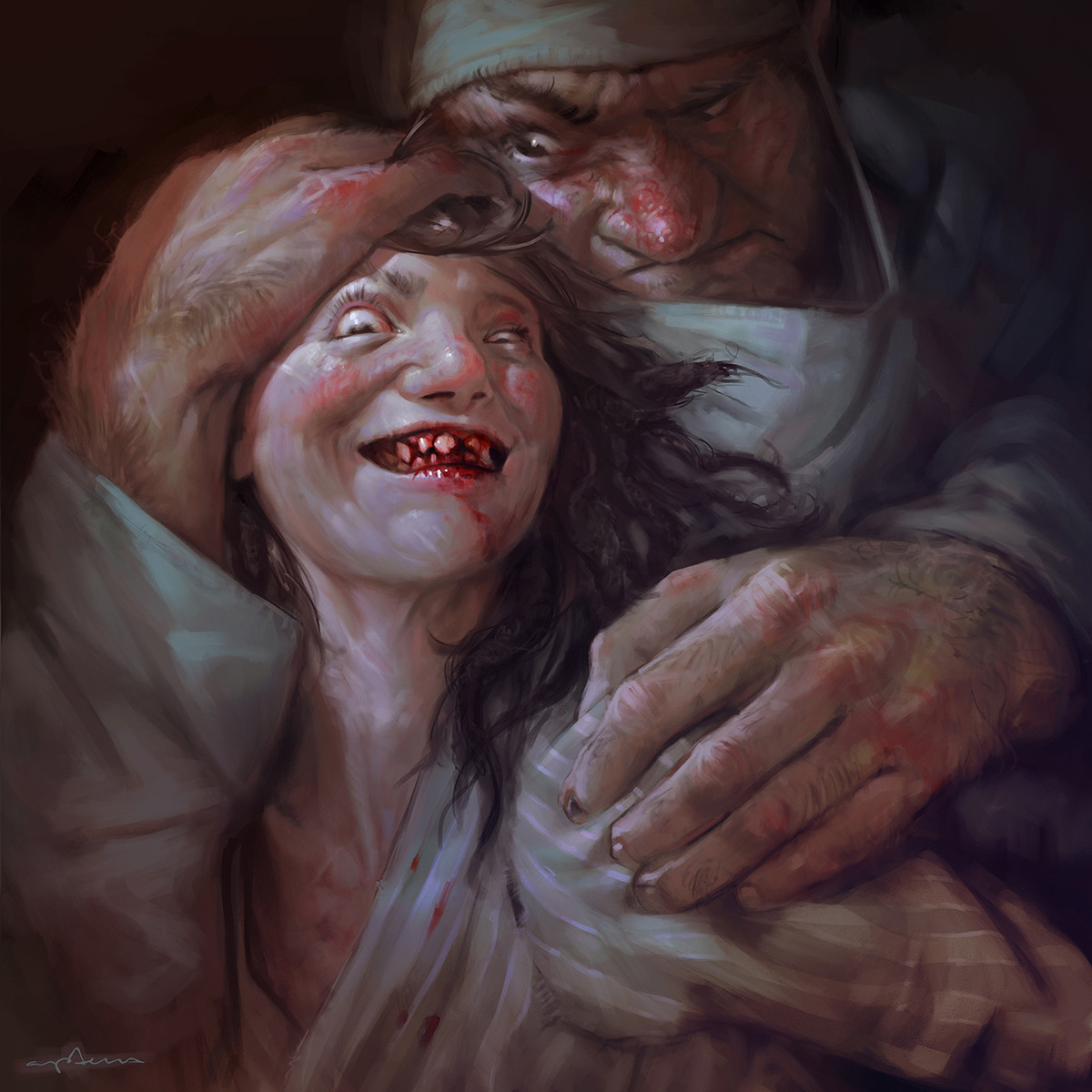Sabbas Apterus illustration what a pretty smile