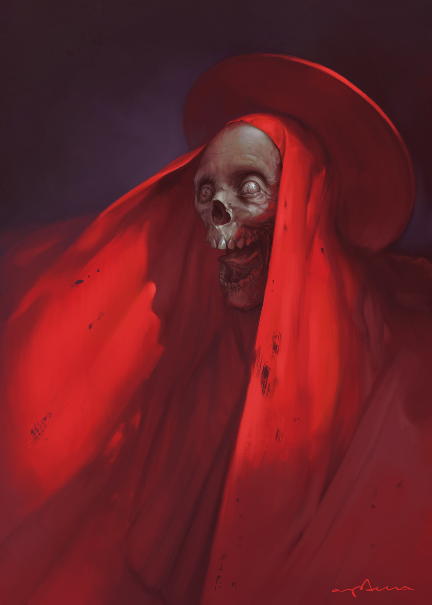 Sabbas Apterus illustration Jolly old fellow