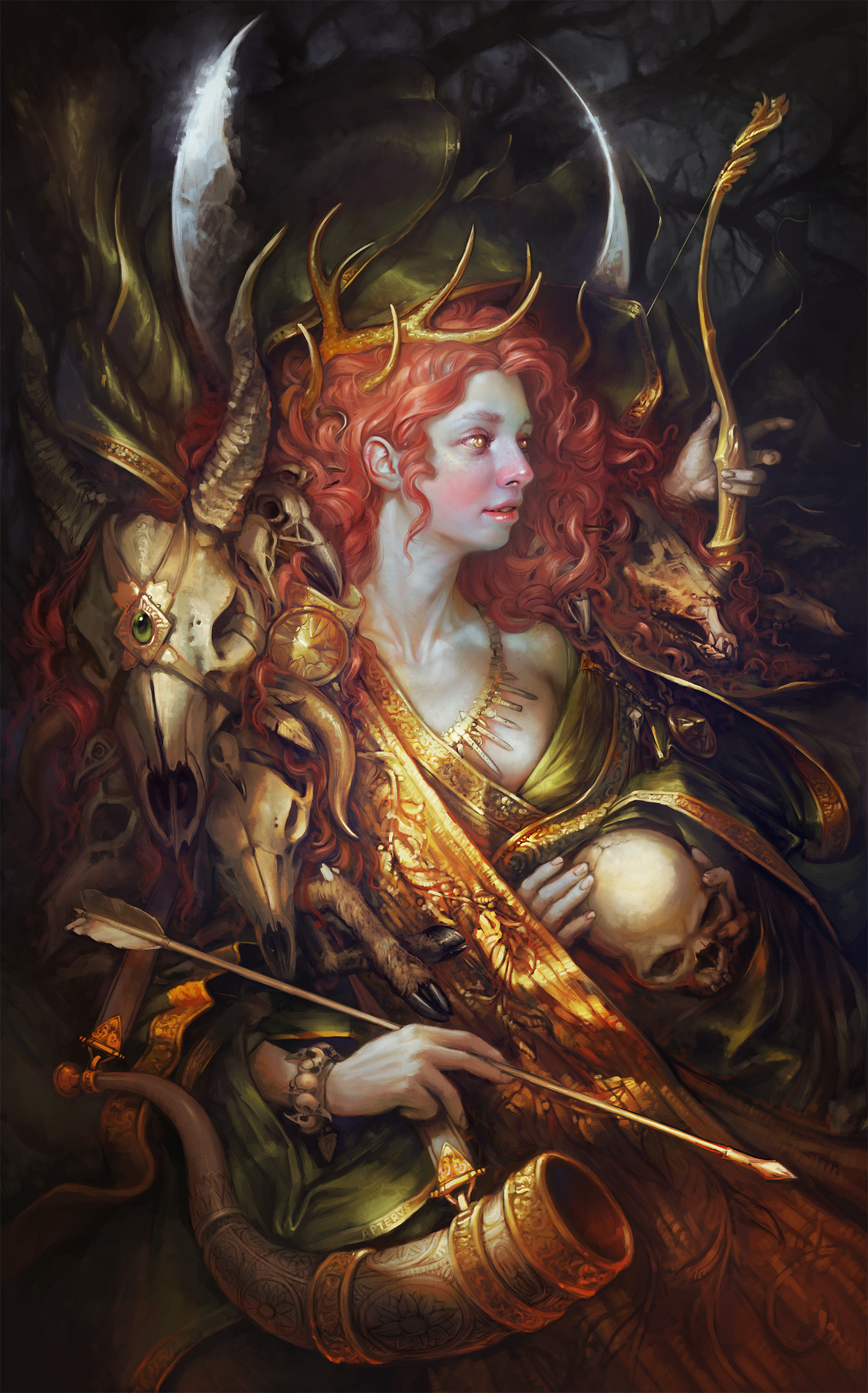 Sabbas Apterus illustration Diana