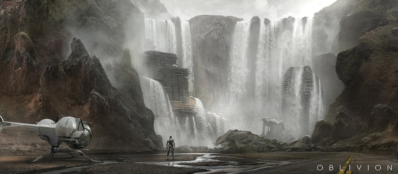 James Clyne Concept Art Games Landscape Oblivion