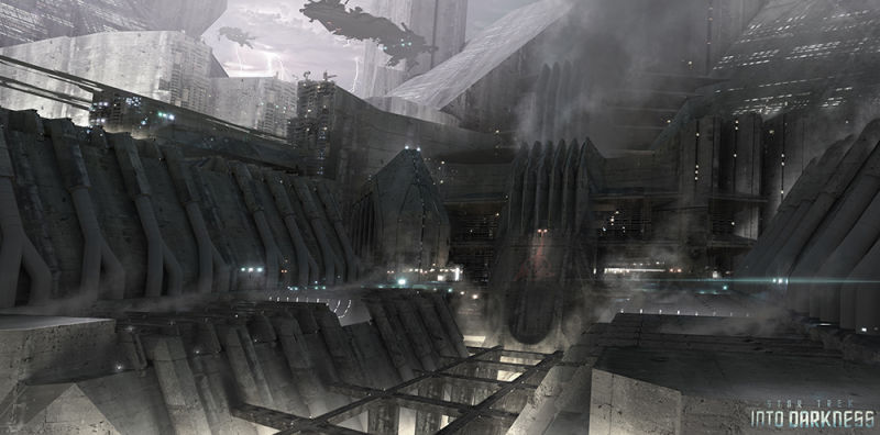 James Clyne Concept Art Star Trek Film
