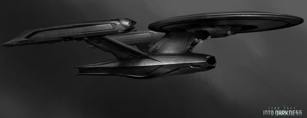 James Clyne Concept Art Star Trek Film Ship