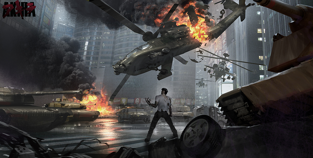 James Clyne Concept Art Film Akira