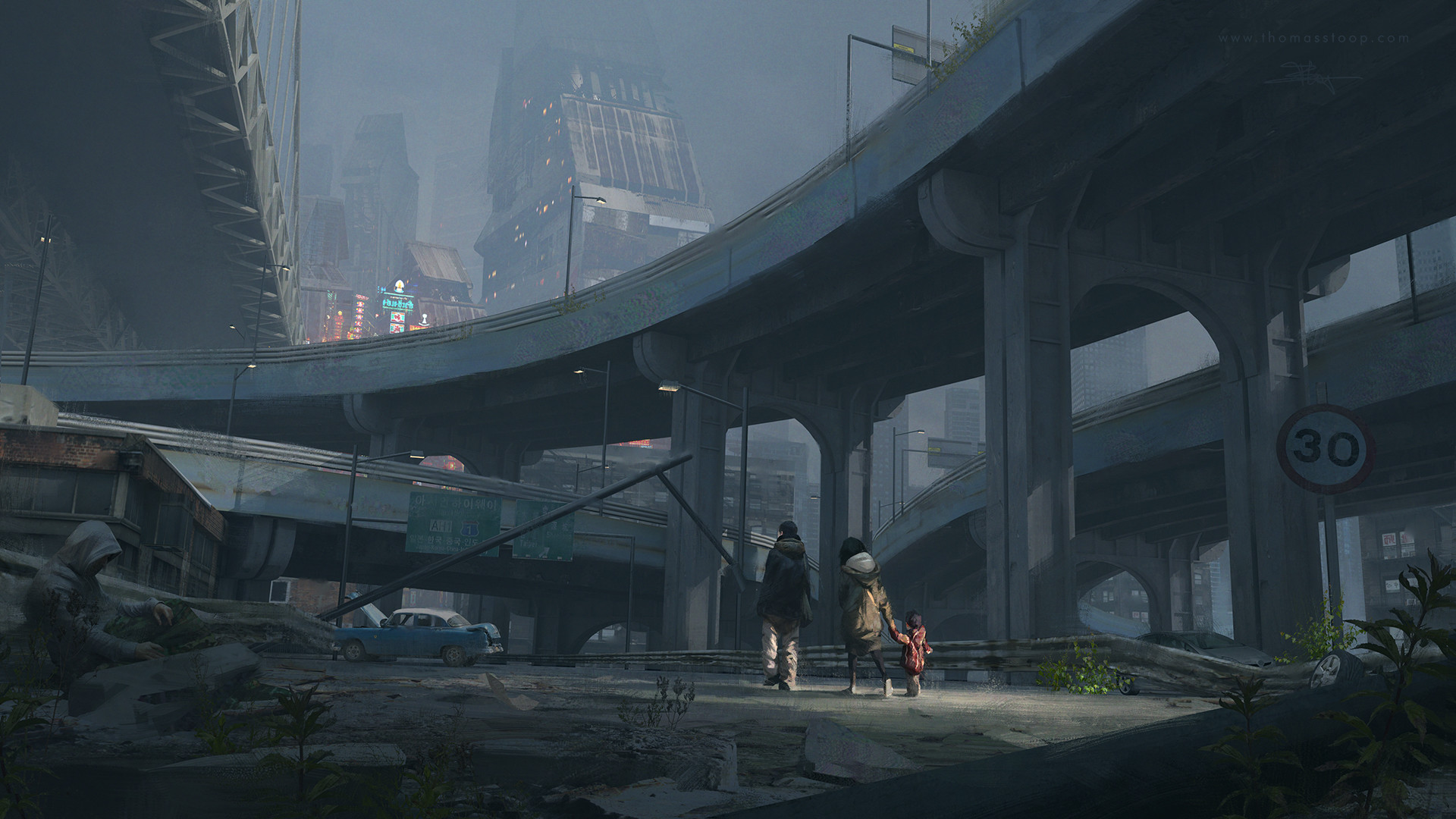 Thomas Stoop Concept Art City Refugees