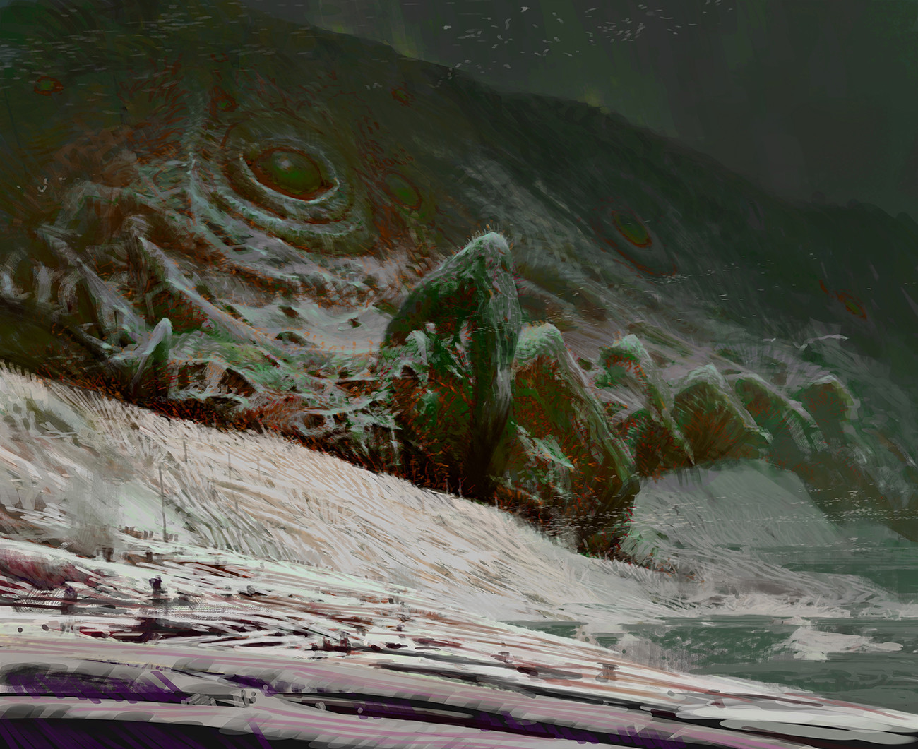 theo prins digital painting concept art guild wars 2 Wall Heart of the thorne